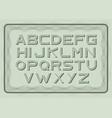 money font dollar latin alphabet sans serif vector image vector image
