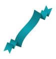 ribbon banner blue ocean design icon vector image vector image