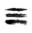 watercolor horizontal hatch brushes set vector image vector image