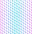 Abstract neon cubes seamless background vector image vector image