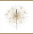 bengal or indian light sparkler vector image