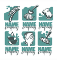 cleaning collection vector image