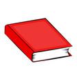 Closed book cartoon symbol icon design beautiful