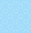 thin circles seamless ornament vector image vector image