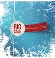 Valentines Day Big Sale Label vector image