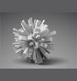 3d design element vector image vector image