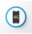 4g smartphone icon symbol premium quality vector image