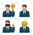 business joke vector image vector image