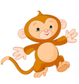 little monkey vector image vector image