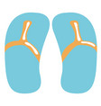 pair of sandals icon vector image
