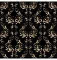 Damask seamless floral pattern Royal wallpaper vector image