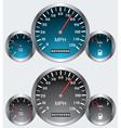 car dashboards vector image