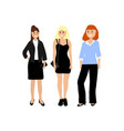 a diverse woman on a white background different vector image vector image