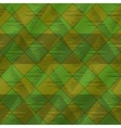 abstract seamless plaid green vector image