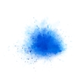 blue water splash vector image vector image