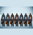 business team 5 vector image vector image