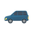family city car isolated icon vector image vector image
