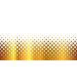 gold and white holes vector image vector image