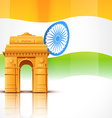 india gate vector image
