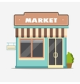 Market Street shop small store front vector image vector image