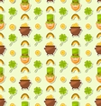 Seamless Holiday Background for Saint Patricks Day vector image