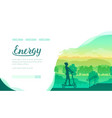 silhouette girl riding electric scooter vector image