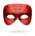 Spider mask vector image