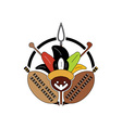 zulu-tribe-sign vector image vector image