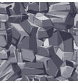 stone gray seamless texture vector image