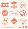 Dog Name Tag Labels