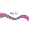 abstract background style banner collection vector image vector image