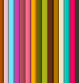 Abstract Retro Vertical Lines Colorful Background vector image vector image
