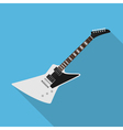 flat guitar 4 vector image vector image