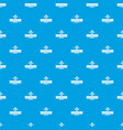 gmo product pattern seamless blue vector image vector image