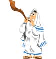 Jewish Man vector image vector image