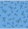megaphone seamless pattern vector image vector image