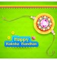 Raksha Bandhan background vector image vector image