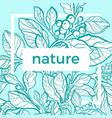 template nature text vector image