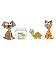 Nice pets vector image