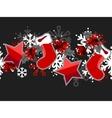 beautiful seamless christmas pattern vector image vector image