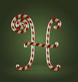 Candy cane abc h