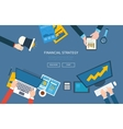 Concepts for business analysis consulting vector image