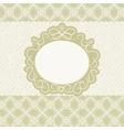 Elegant Vintage Card vector image vector image