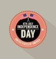 fourth july independence day vector image vector image