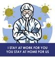 medical worker doctor nurse warning coronavirus