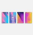 modern business geometric template covers for vector image