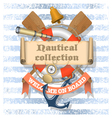 Nautical Collection 1 xs vector image vector image