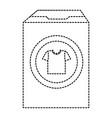 powder detergent box icon vector image