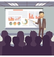 Public business training conference workshop vector image vector image