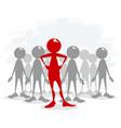 talent leader vector image